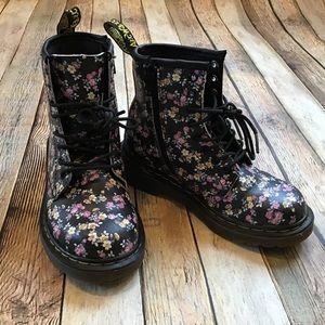 Dr Marten Floral Delaney Boots
